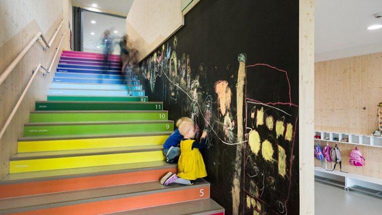 Tanuljunk számolni lépcsőfokonként!